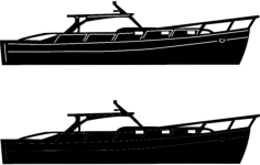 boats and ships 4 Free Dxf for CNC