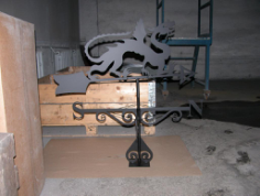 dragon weathervanes Free Dxf for CNC