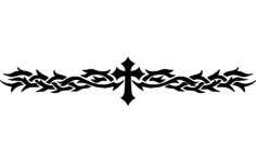 cross-band Free Dxf for CNC