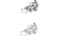 heavy equipment Free Dxf for CNC