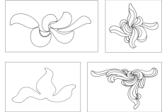 flower design Free Dxf for CNC