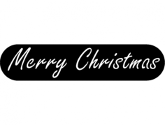 merry christmas Free Dxf for CNC