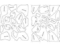 Bull 3d dxf File Format