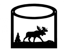 animals Free Dxf for CNC