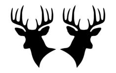 Deer heads 00 1 dxf File Format