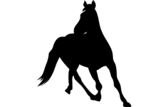 horse 6 Free Dxf for CNC