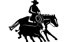 cowboy and western 14 Free Dxf for CNC
