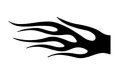 flame dl 3 Free Dxf for CNC