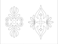 Flowers 18 dxf File Format