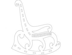 Sallanan Sandalye dxf File Format