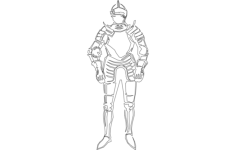 knight Free Dxf for CNC