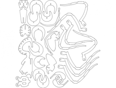 pajak Free Dxf for CNC