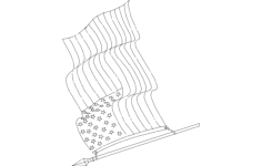 american-flag Free Dxf for CNC