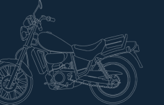 motorcycle old Free Dxf for CNC