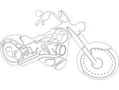chopper Free Dxf for CNC