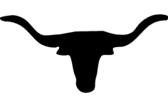 texas longhorn Free Dxf for CNC