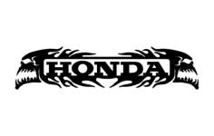 Honda Skulls dxf File Format