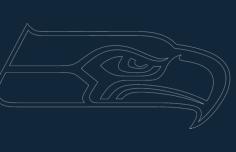 sea hawk Free Dxf for CNC
