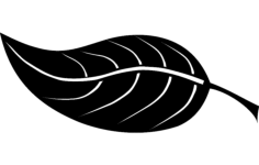 leaf Free Dxf for CNC