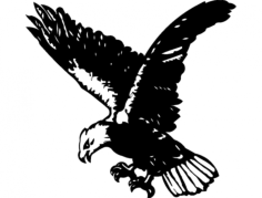 Eagle (5) Free Dxf for CNC