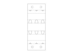Box Cutout Design Free Dxf for CNC