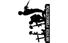 never forgotten Free Dxf for CNC