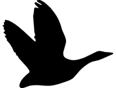 ganso 2(goose) Free Dxf for CNC