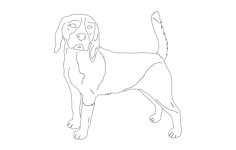 beagle good 2 Free Dxf for CNC