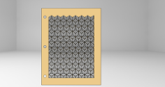 frame art Free Dxf for CNC