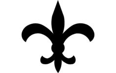 fleur de le Free Dxf for CNC