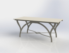 table Free Dxf for CNC