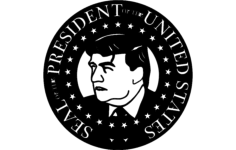 pres trump Free Dxf for CNC