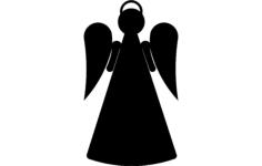 angel stake 2b Free Dxf for CNC