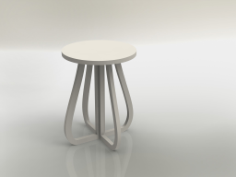 tabouret 19mm Free Dxf for CNC