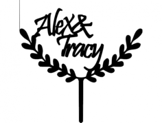 alex- -tracy 04 Free Dxf for CNC