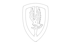 1st aviation brigade Free Dxf for CNC