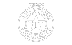 texaco Free Dxf for CNC
