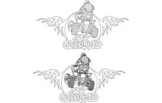 motorsport Free Dxf for CNC