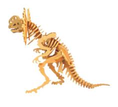 dilofossaur Free Dxf for CNC