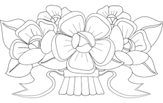 flower design 3 Free Dxf for CNC
