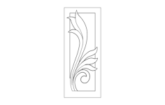 separator design Free Dxf for CNC