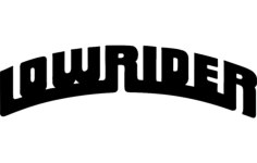 lowrider Free Dxf for CNC