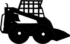 skidsteer Free Dxf for CNC
