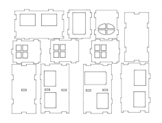haus (1) Free Dxf for CNC