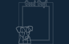 jack russell – good boy Free Dxf for CNC