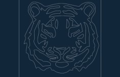 Tiger vector File .DXF Format