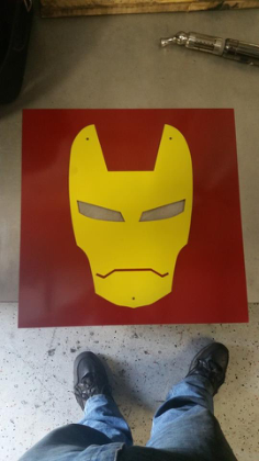 iron man Free Eia for CNC