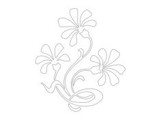 Flourish 1 dxf File Format