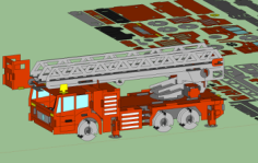 fire truck Free Dxf for CNC
