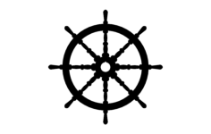 ships wheel Free Dxf for CNC